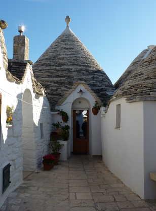 Village d'Alberobello dans les Pouilles