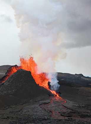 Volcan à Geldingadalur, Fagradalsfjall