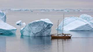 Photo du voilier la Louise Icebergs