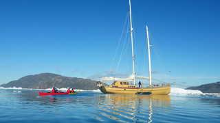 Croisière voilier la Louise, Groenland