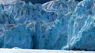 Glacier de Svéa au Svalbard, Spitzberg