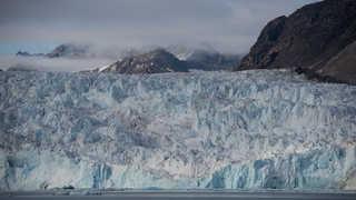 Glacier du Svalbard, Spitzberg, blomstrandbreen