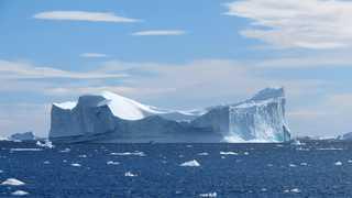 Iceberg géant au Groenland