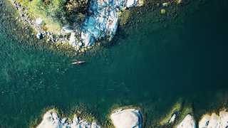 Kayak en Suède