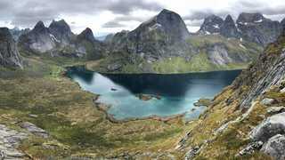 Plage de Bunes, îles Lofoten, Norvège
