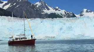 Le voilier Qilak en Alaska