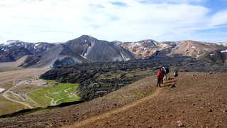 Randonnée à Landmannalaugar
