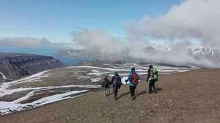 Randonnée à Longyearbyen