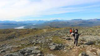 Randonnée au Mont Saana, Laponie