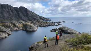 Randonnée Norvège dans les Lofoten