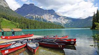 Rocheuses canadiennes au Canada