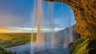 Seljalandsfoss, cascade en Islande