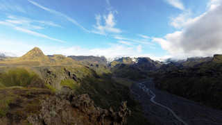 Thorsmork en Islande