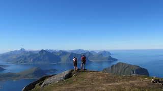 Trek dans les iles Lofoten
