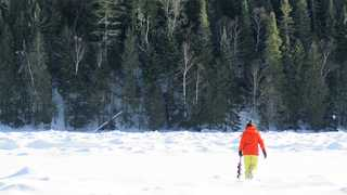 Trou de glace Canada
