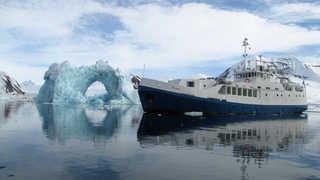 Voyage aurores boréales en bateau de croisière