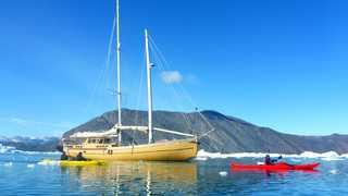 Voyage en bateau voilier au Groenland