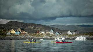 Voyage groupe en Kayak
