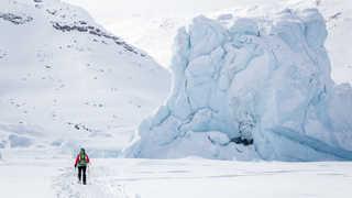 Voyage raquettes au Groenland