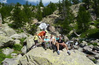 randonnée, Alpes, Mercantour