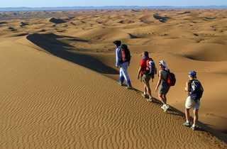 Dunes du Draa au Maroc