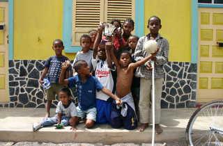 Enfants capverdiens
