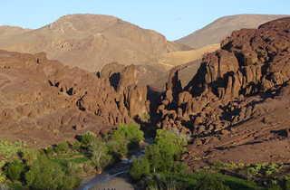 Gorge de Tislit, Siroua, Maroc