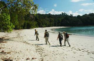 randonnée et trekking parc Manuel Antonio, côte pacifique, Costa Rica