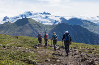 Randonnée à Skaftafell en Islande