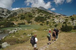 Randonnée Mont Vihren dans le massif du Pirin