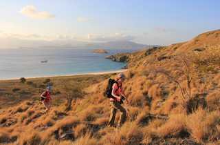 Randonnée sur l'île de Padar
