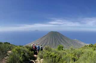 Randonnée sur l'île de Salina
