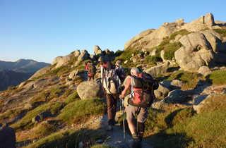 Corse, randonnée, GR20 sud, Vizzavona, Bavella