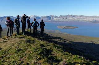 voyage aventure au Svalbard, trek