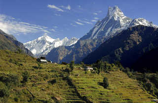 trek népal, trek annapurna, trek sanctuaire des annapurnas