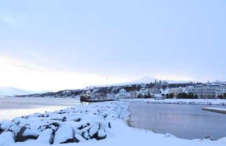 Akureyri en hiver