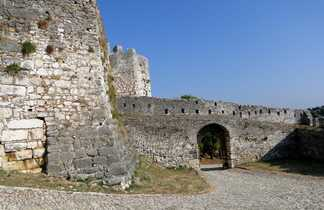Albanie, Berat, chateau