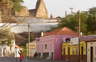 Ambiance à Cidade Velha, la première ville créole