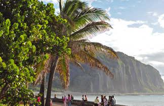 Ambiance des plages à Saint-Denis, la Réunion