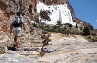 Amorgos, monastère de Panagia Chozoviotissa