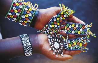 Artisanat en perle en Afrique du Sud