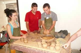 Atelier poterie en Bulgarie