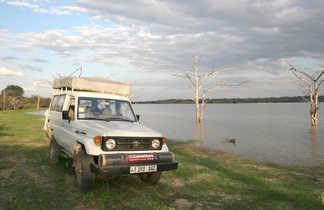 Au bord du lac Naivasha au Kenya