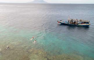 Baignade et snorkeling à Bali