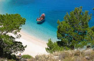 Balade en caïque, Cyclades