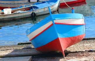 Barque port Palerme