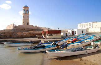 Barques de pêche, Oman
