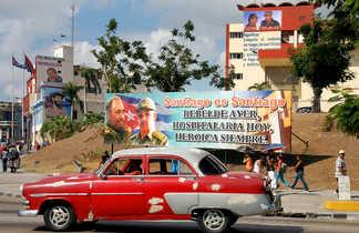 découverte de l'Oriente, belle américaine à Santiago de Cuba