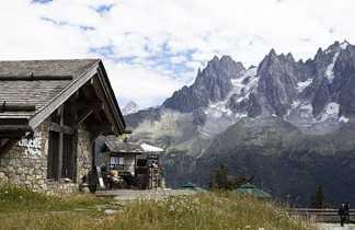 Bergerie de Plan Praz lors du Tour du Mont Blanc