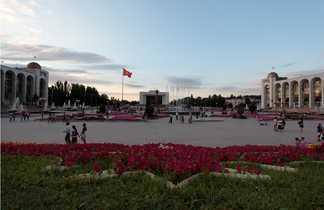 Capital Kirghiz Bichkek
